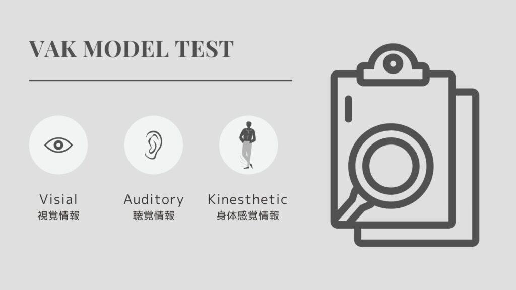 [NLP式]VAK診断テスト