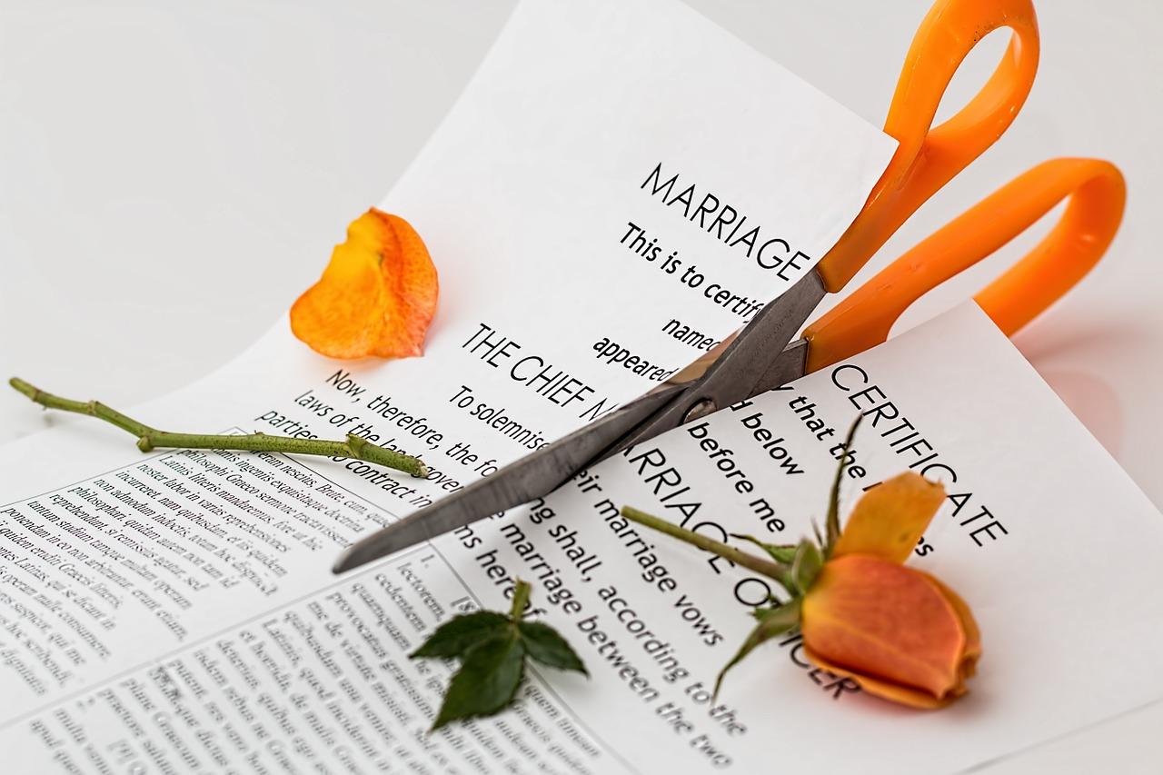 離婚,回避